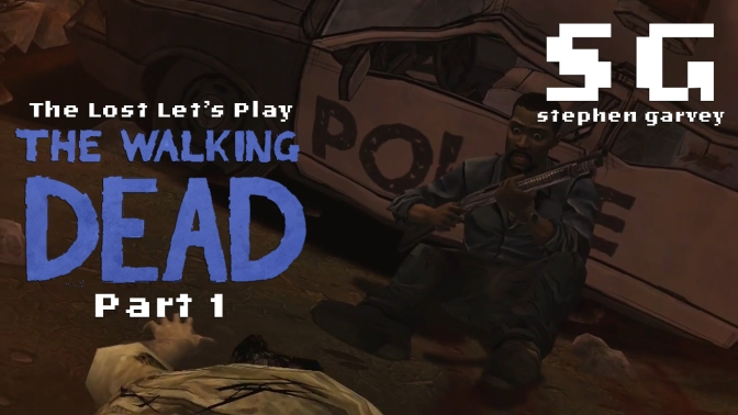 The Lost Let's Play: The Walking Dead – Part 1: F*** My Leg (feat. Lukas Coxall)
